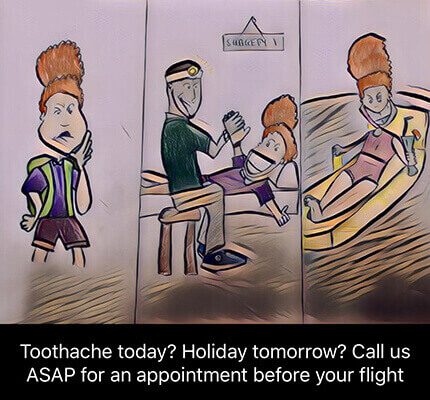 emergency toothache dental treatment appointment