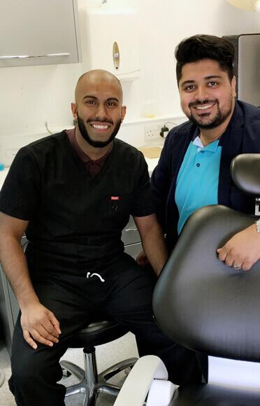 Satisfied dental Patient